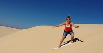 Sand Dune Safaris, NSW, Australia