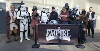 The Empire Coffee Co at Honeysuckle, Newcastle, Australia