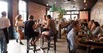 juicy beans cafe at Honeysuckle, Newcastle, Australia